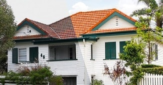 Exterior Residential House Cleaning Services Brisbane Gold Coast Roof Cleaning Service Before and After Cleaning