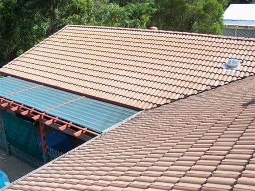 Compare before and after pictures of client's properties after roof cleaning in Brisbane and the Gold Coast