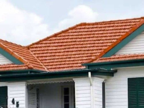 Compare before and after pictures of client's properties after roof cleaning in Brisbane and the Gold Coast. Exterior Residential Roof Cleaning Brisbane Gold Coast Tile Roof Cleaning After Photo