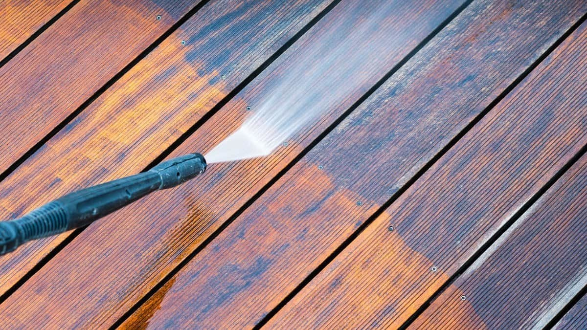 Deck Patio Pressure Cleaning Brisbane Gold Coast Home Residential Exterior Cleaning Service
