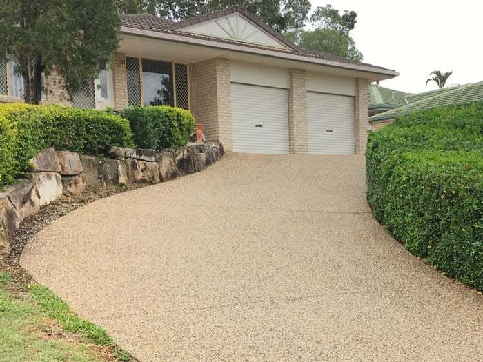Driveway and Pathway High Pressure Cleaning Service Brisbane Gold Coast Exterior Residential High Pressure Cleaning Service After